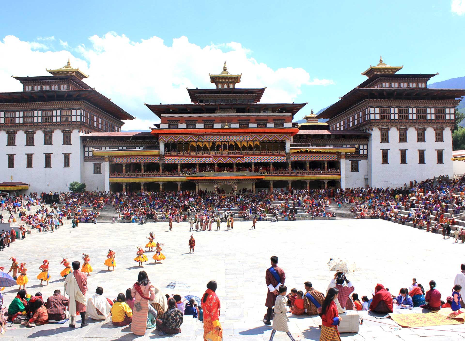 Thimphu Tshechu | BHUTAN KORYO